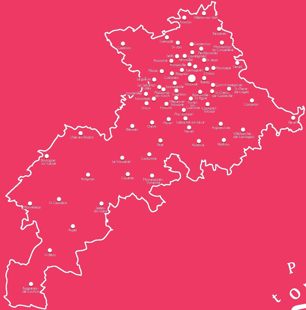 Carte des collèges ciblés par LE&C GS