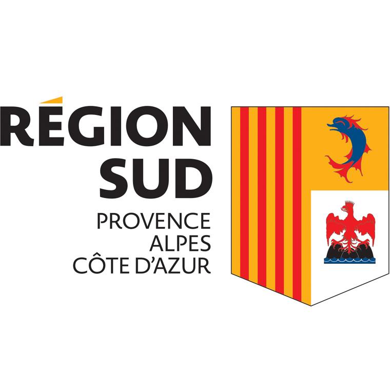 La réion Provences-Alpes-Côte d'Azur
