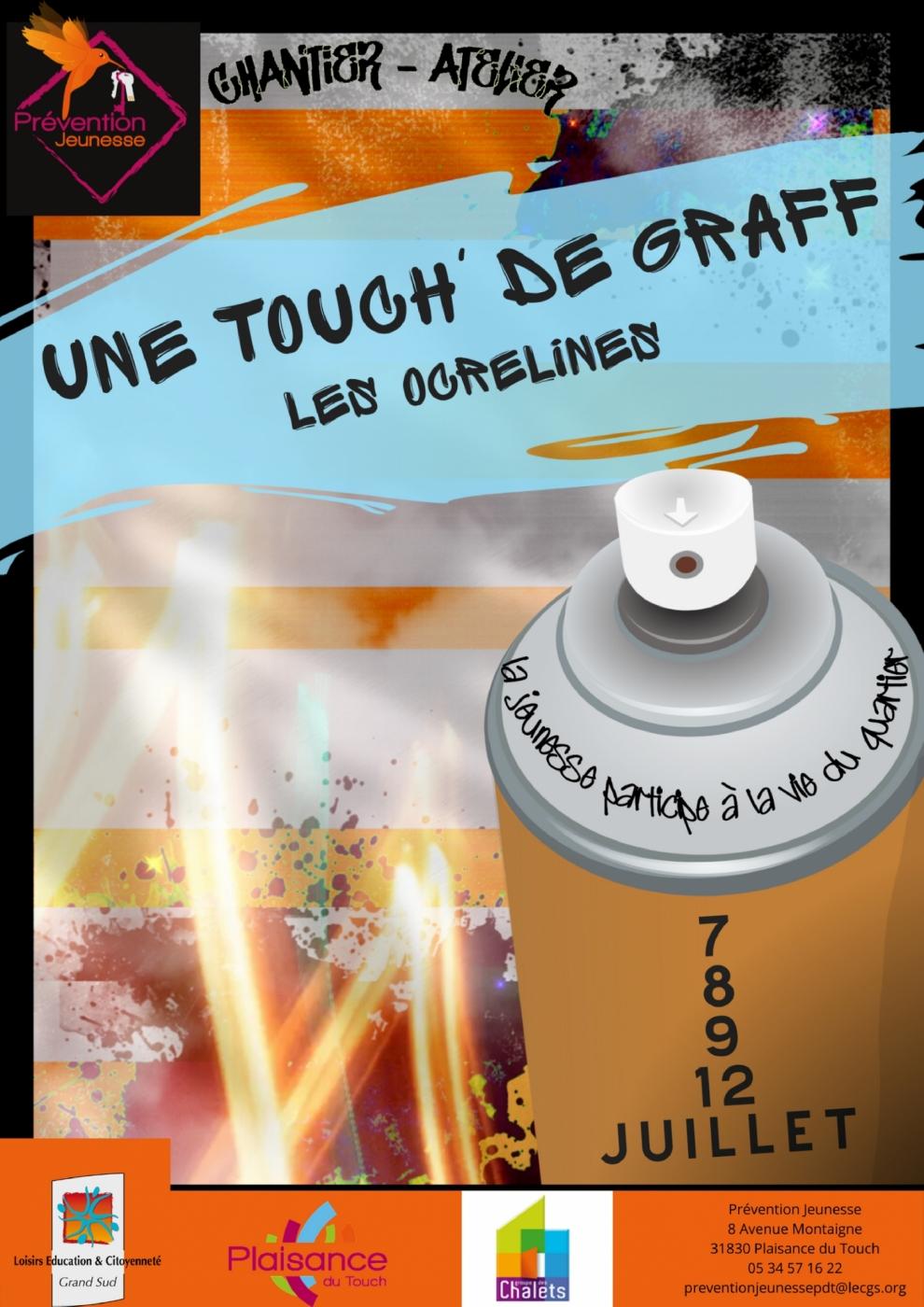 Affiche Une Touch de Graff