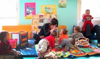 Le multi-accueil Les Oursons, un lieu d'éveil pour les enfants du canton / Photo DDM