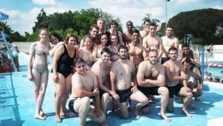 La formation s'est déroulée à la piscine municipale Jean Lecussan / Photo DDM
