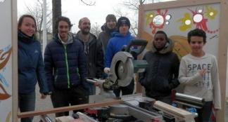 Equipe chantier jeunes plaisance du tous janvier 2017