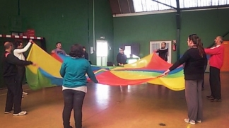 Les animateurs se sont formés autour de quatre ateliers / Photo DDM