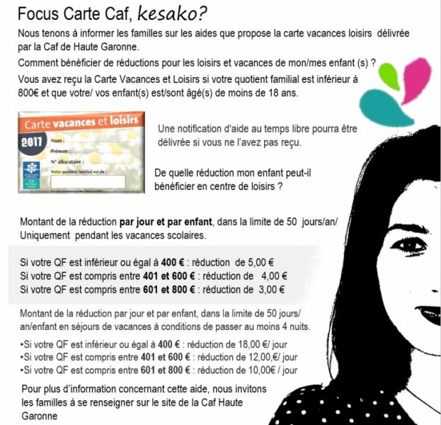 Aide Caf Vacances Loisirs